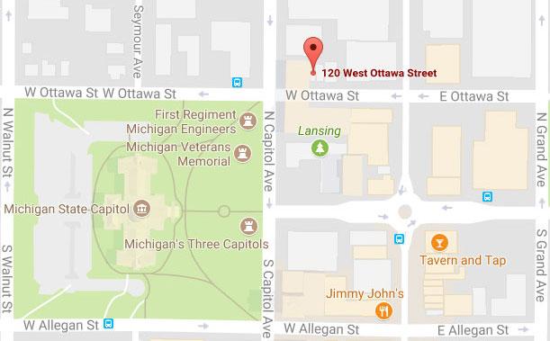 Michigan State Map Google.Google Map Mcalvey Merchant Associates